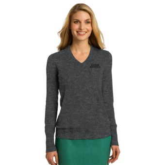 08b4d5b16b9b Gypsum Express Company Store - Ladies Port Authority V-neck Sweater